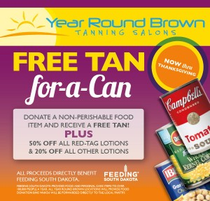 Tan for a can!
